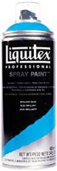 Liquitex Professional Spray Paint - Acrylfarbe, Farbspray auf Wasserbasis, lichtecht, 400 ml - Brillantblau